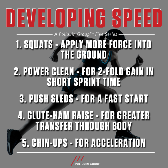 Best Exercises for Developing Speed http://t.co/8PKbUabYdp