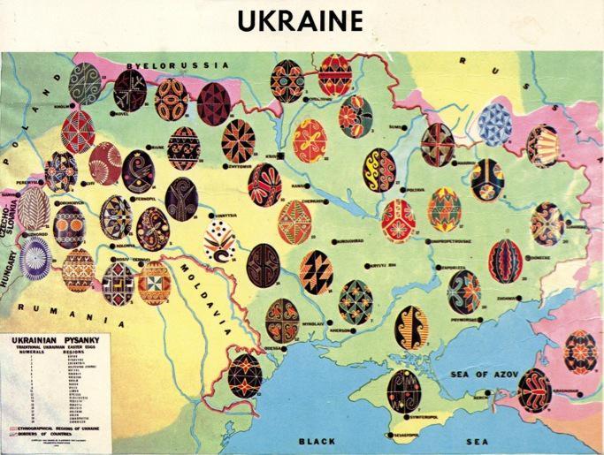 Карта орнаментів писанок з різних регіонів України http://t.co/rcZRBbPDHs