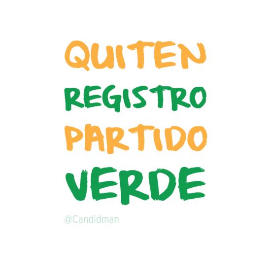 Exigimos que el @INEMexico y @lorenzocordovav #QuitenRegistroAlVerde @partidoverdemex Firma > http://t.co/OAsrwGz7SA http://t.co/OVtCZslzGI