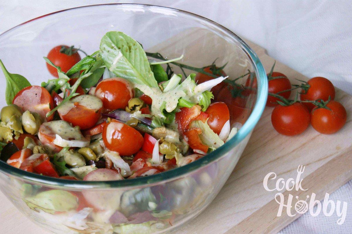 Салат с помидорами черри и капустой рецепт с