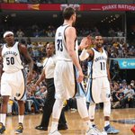 Grizzlies in complete control. Memphis builds a 19-point lead at half against Portland, 58-39. http://t.co/fCpIF66Nk3