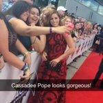 The amazing @CassadeePope meeting the fans here at the @ACMawards! Watch the video on our @Snapchat! #BMLGatACMs http://t.co/pAbglxrdHm