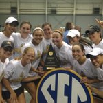 Were coming home with the hardware! #FightDores #SECWT15 http://t.co/jK6Ih8kbQt