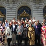 Joined community at #nccbf15 Parade. SF will cont to support Japantown, all historical cultural neighborhoods @NC_CBF http://t.co/3hLqxQiVyc