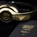 #SFGiants received their very own gold Champion edition headphones, courtesy of @beatsbydre http://t.co/py5PKSpHCl