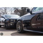 These black beauties came all the way from Buffalo for the Areté treatment! Showroom and Basic details + tint. #Roc http://t.co/dgzYaSht74