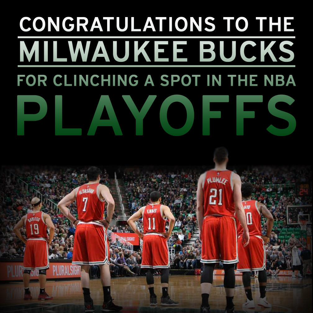Join us in congratulating the @Bucks! #OwnTheFuture http://t.co/71k3BBrzLO