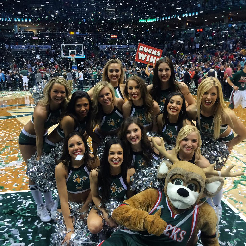 Playoffs here we come!!  Go @Bucks Go!!  #FearTheDEER http://t.co/zEapyKgj1n