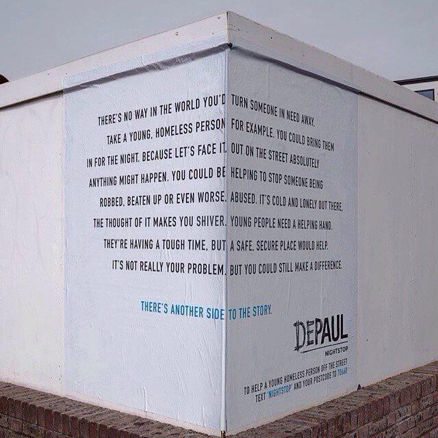 Very clever design. Read the left wall first. http://t.co/QlWvFpSa4x