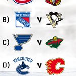 We've got playoff hockey on our mind, but what do you think will be the best First Round series?