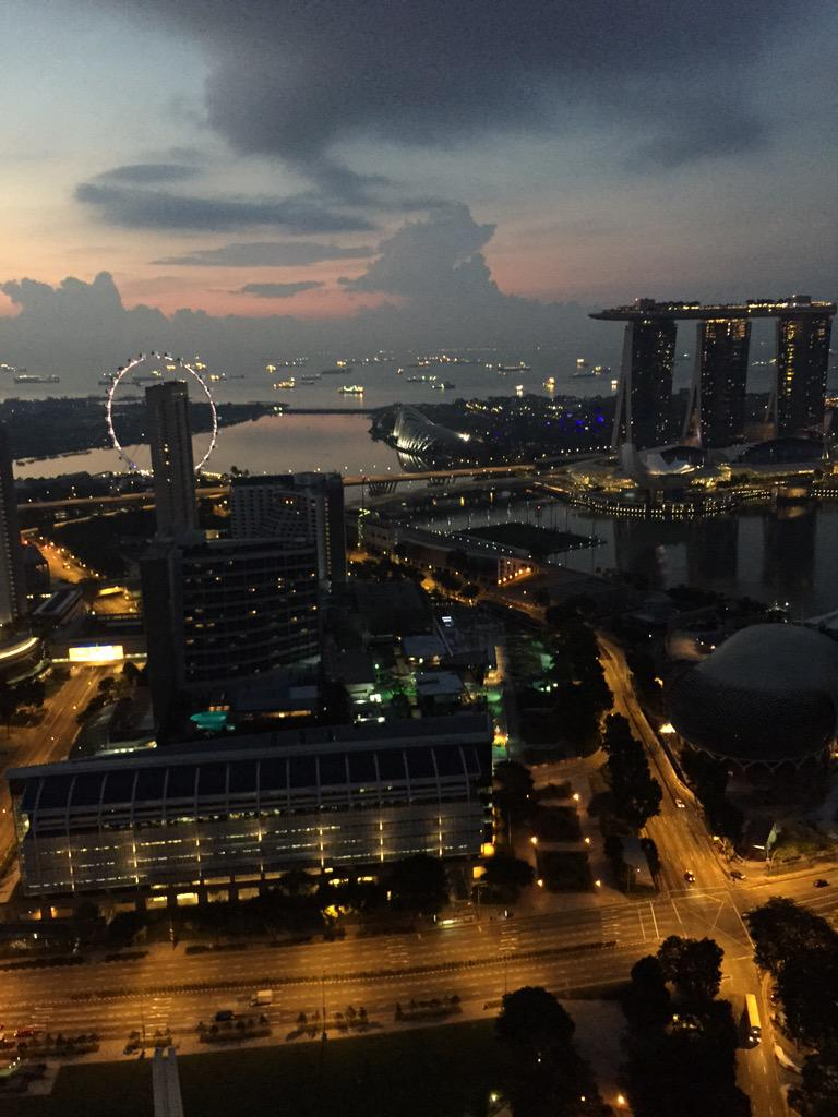 Singapore sunrise.. Loved last night.. KL tonight #HillsongWorship http://t.co/ckxXfSbuu9