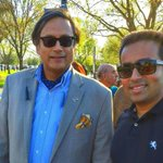 RT @LittinKandoth: @ShashiTharoor Pleassure running into you at the cherry blossom festival #ShashiTharoor #CherryBlossomFestival