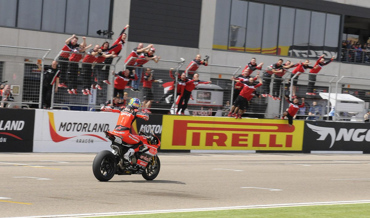 No words! #ForzaDucati #WinnerWinner
