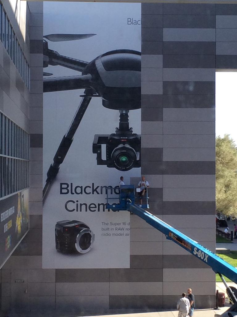 Is this a @Blackmagic_News Cinema Camera Drone? Or just a smaller camera? http://t.co/d2s5OGDlPc