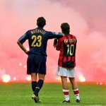 RT @BBCSporf: 10 YEARS AGO TODAY: The Milan derby was stopped due to flares on the pitch, creating this iconic photo.