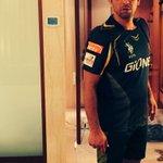 Gym time - #IPL #KKR #Fitness