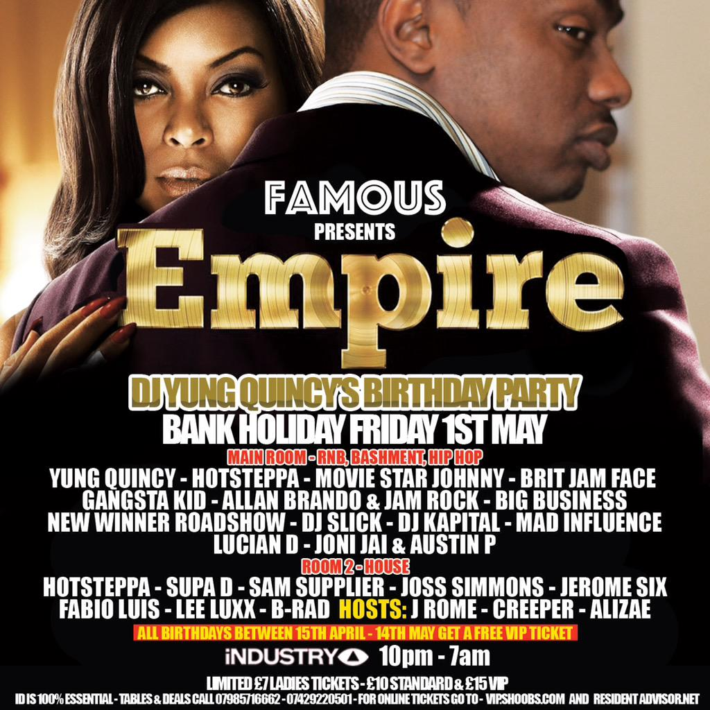 #empire my bday party @MrAlpo @TEAMKAD @mdotrartist @DonAndre @DonArtistSlickz @djashad @BushBash @Razorartist RT http://t.co/AlzpFb7rbe