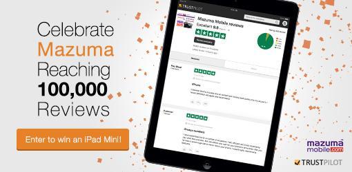 Win an iPad mini: tweet a 5 word review of Mazuma and tag @Trustpilot + #5stars5words http://t.co/sJoY0Ea6mg http://t.co/sJSOeemLL8