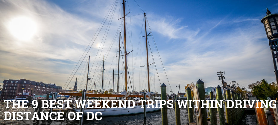 The 9 Best Weekend Trips Within Driving Distance of DC: http://t.co/SikIZrIizV http://t.co/Tz7wMVkjWs