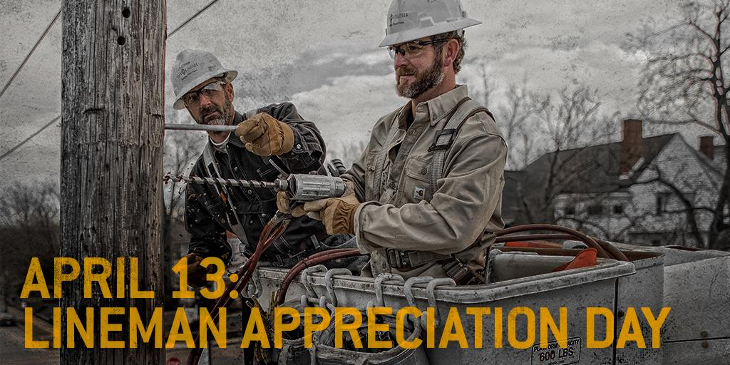 They go home to their families after yours are taken care of.  #ThankALineman http://t.co/jrYsriQp5C