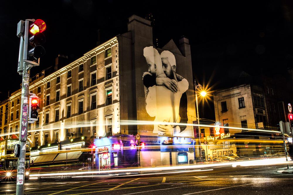 Dublin last night. @joecaslin #YesEquality http://t.co/SiMci1h5e4