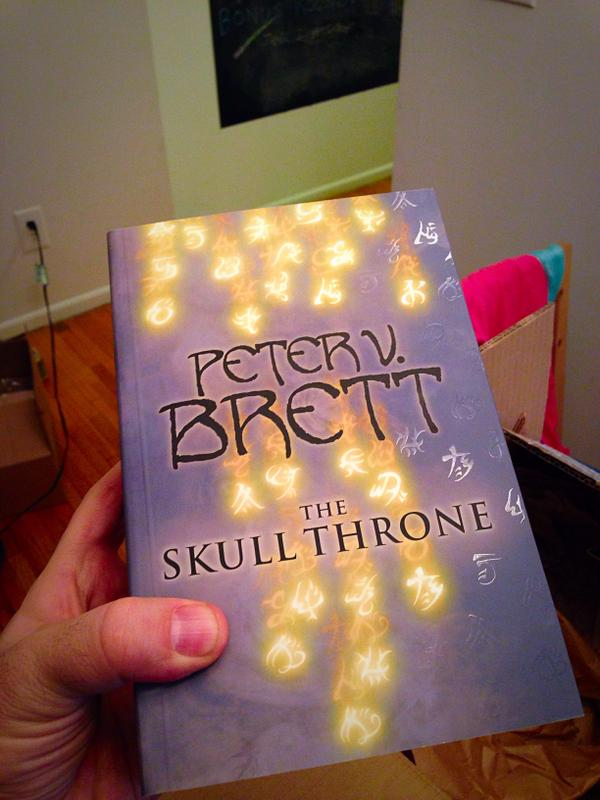 We've got 5 ltd edition 'superproofs' of @PVBrett's #TheSkullThrone to give away! RT to be in with a chance to win! http://t.co/XquOt5c0CS