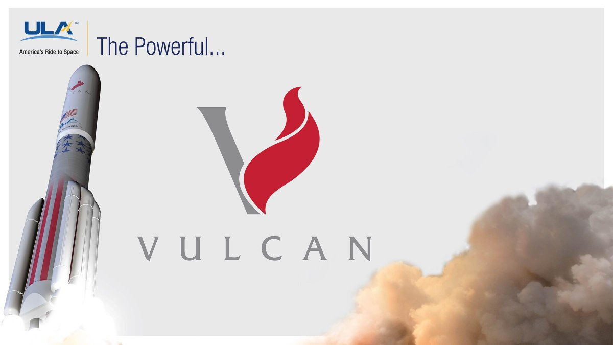 You chose it...the name for #AmericasRocket is #VulcanRocket! http://t.co/nRDQ3jBhOy
