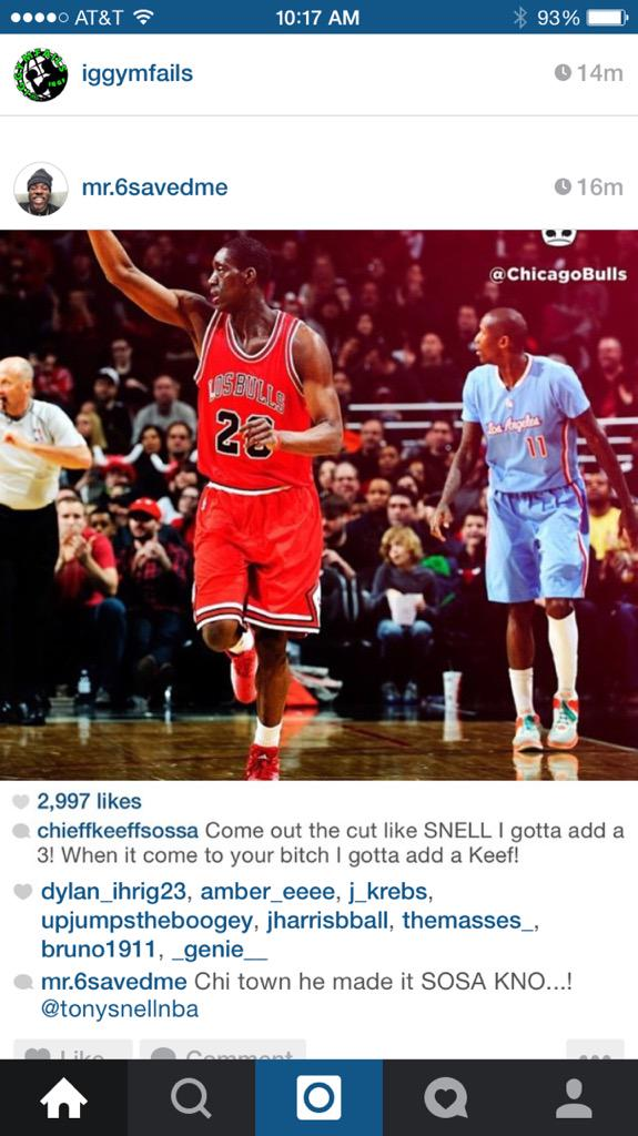 Chief Keef shouting out Tony Snell http://t.co/djk6VEUJrS
