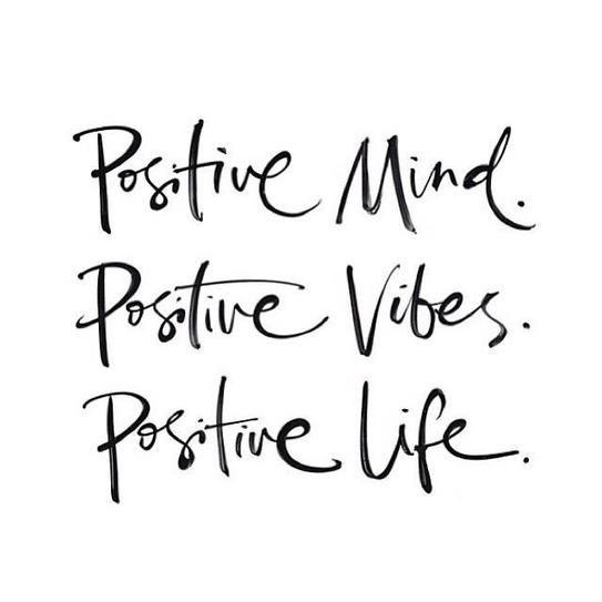 #MondayMotivation // stay positive