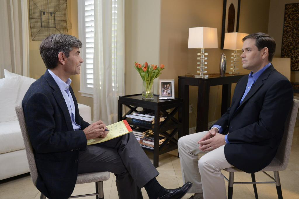 """In exclusive interview, Sen. Marco Rubio tells me """"I can lead this country"""" as president http://t.co/3OlGfIzb1I http://t.co/kYUKzpF0Zg"""