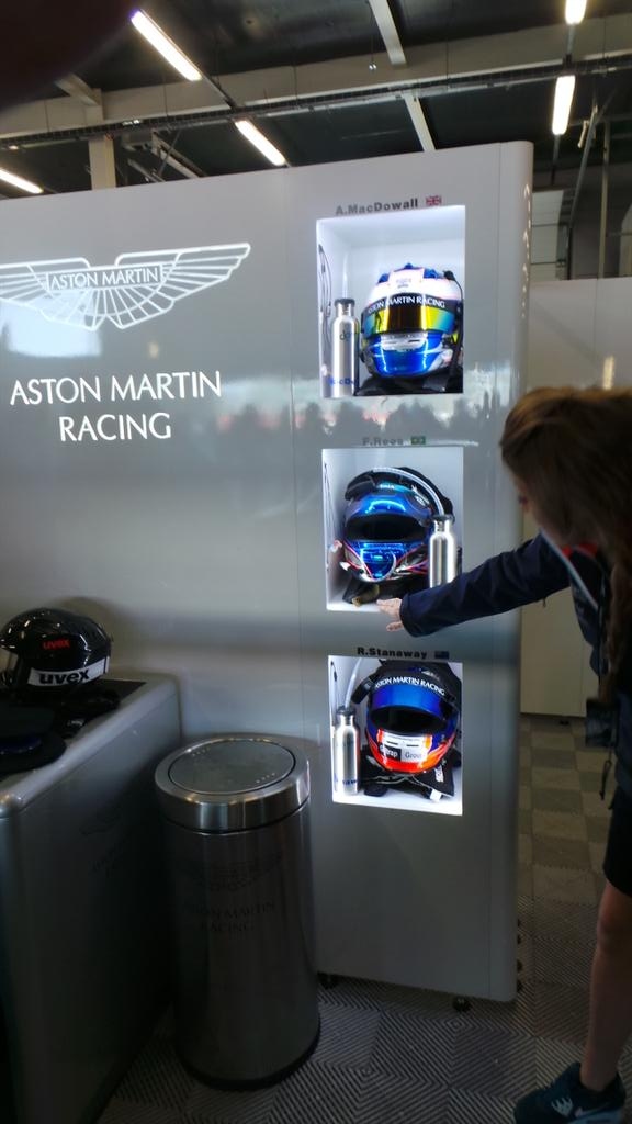 RT @f1mrfox: Thank's so much to @AMR_Official for looking after me on the garage tour #Privileged #6hSilverstone #TeamAMR #TYbeck http://t.co/RHJffmHACr