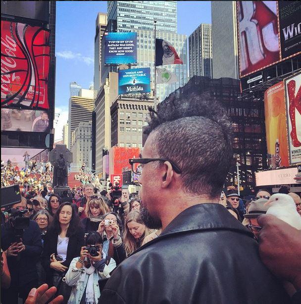 Artists Demand Freedom for Cuban Artist Tania Bruguera in Times Square, via @artnet: http://t.co/HMRzggU7qs http://t.co/seCO2g2sFI