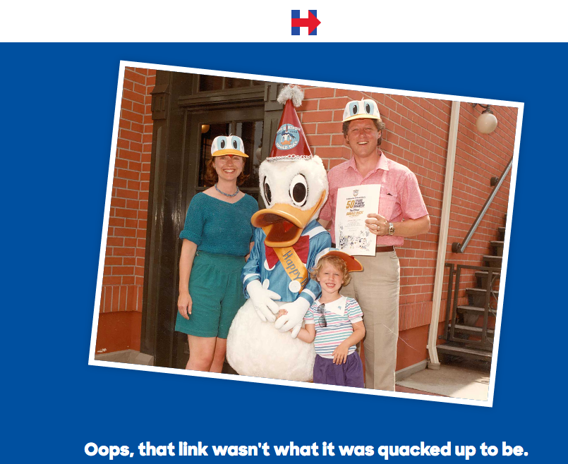Great 404 page. @HillaryClinton's. http://t.co/N9D4ChSQUk