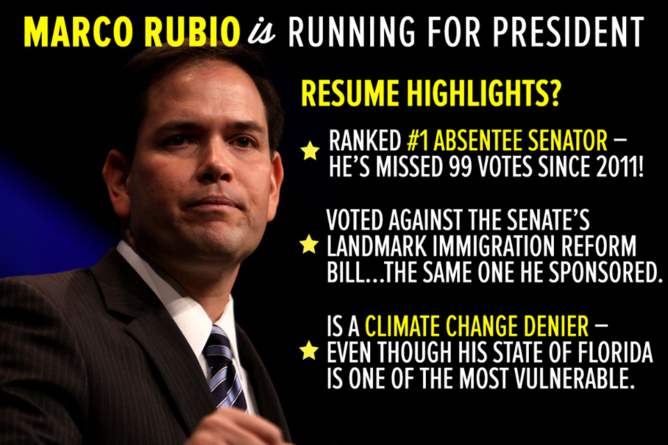 """""""@BWheatnyc: Rubio for president? Here are some of his """"accomplishments"""" #TNTweeters http://t.co/47xk5GhJLl"""""""