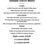 """""""@DrakesRest: Our delicious lunch menu changes daily- only £25 for three courses!#Brighton #Restaurants #Lunch http://t.co/qJDCVY5Pdp """""""
