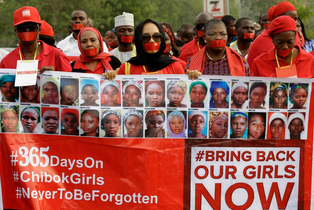 #Chibok: One year on. 276 abducted. 219 still missing. New govt must do everything in its power to #bringbackourgirls http://t.co/lGqION2LGJ