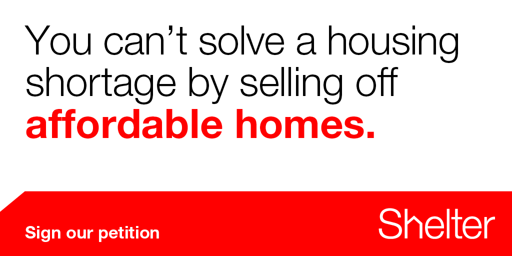 We need to build homes, not sell them off.  Sign + RT our petition: http://t.co/E8Tnlt2rQt #righttobuy http://t.co/EHwtu0YSdP