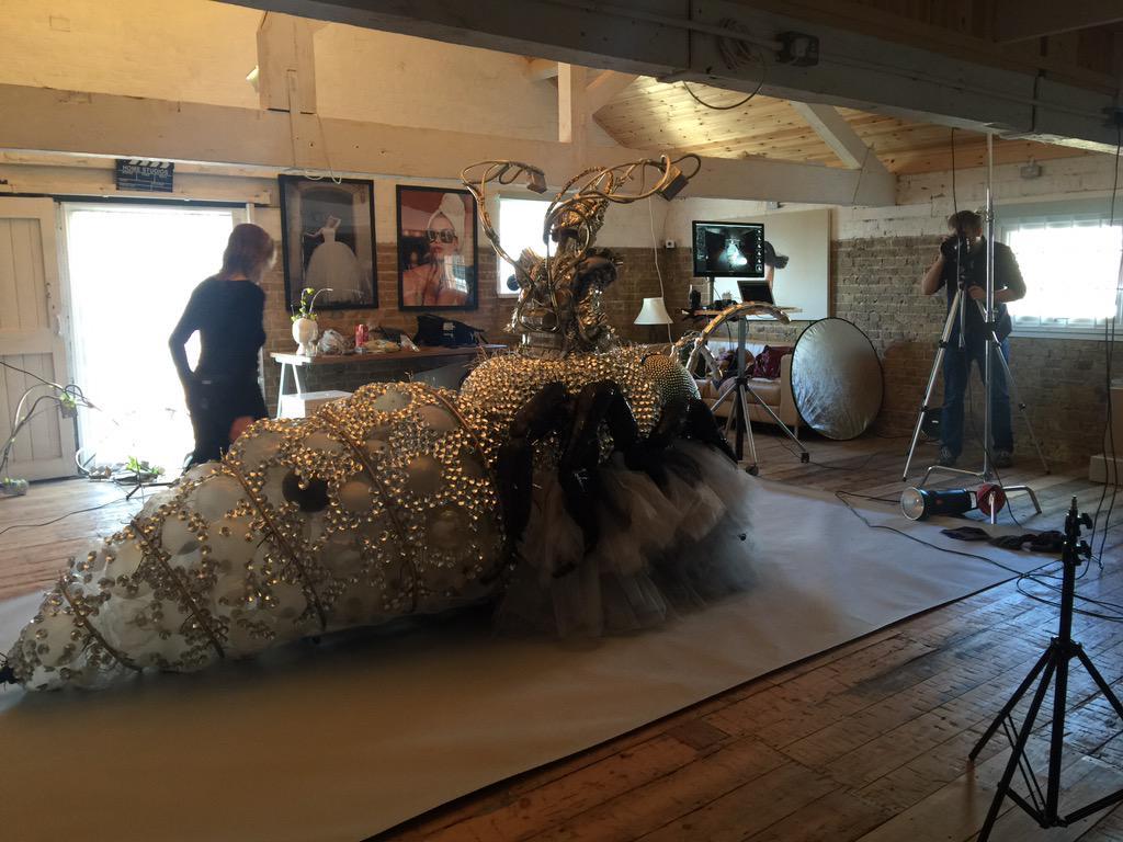 test Twitter Media - Massive works if art at the studio today http://t.co/igvdGYsdye