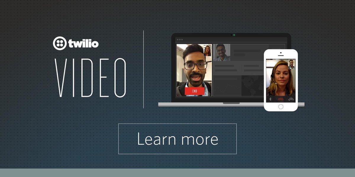 Announcing Twilio Video: http://t.co/kbfdrjO8hO http://t.co/JWCyh5rPnU