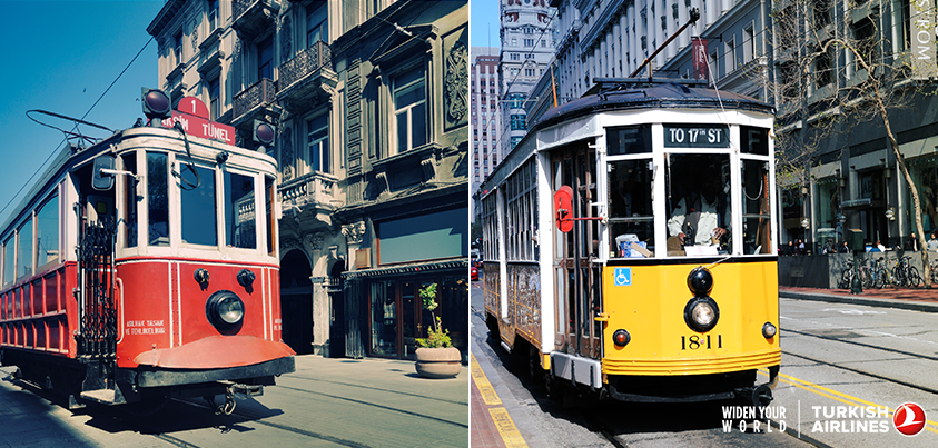 Istanbul and San Francisco have a lot in common! Check out the similarities for yourself at