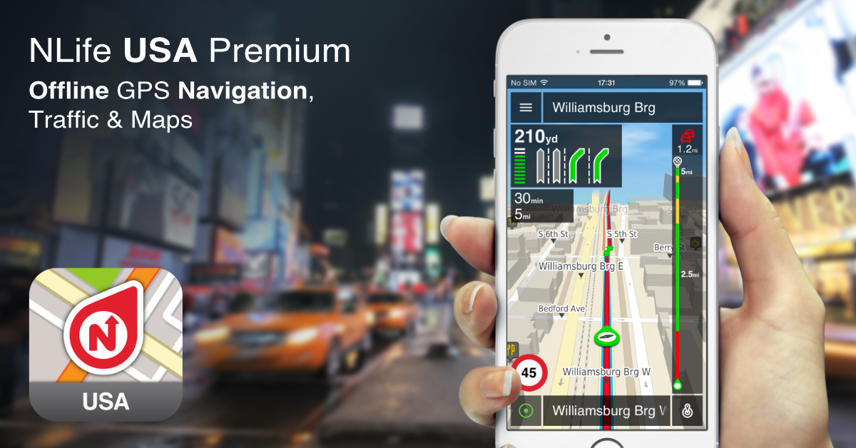 Brand new NLife USA Premium. Offline GPS Navigation, traffic & maps for iOS. http://t.co/DkGcbsGfGu #GPS http://t.co/Qe7uv0yjUq