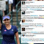 RT @WTA: #WTA & #ATP stars past & present congratulate @MirzaSania on becoming doubles World No.1--> http://t.co/gf39zT0yU6 http://t.co/wic…