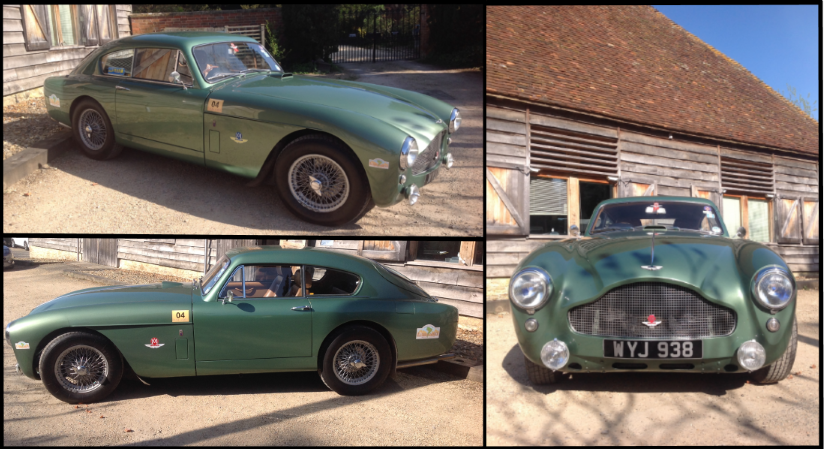 Our Chairman's well-travelled MkIII at the Barn. http://t.co/RYzPWjr1Vf
