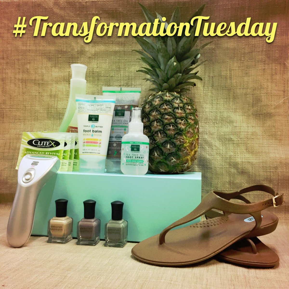 It's #TransformationTuesday! Get ready for sandal weather w/this #giveaway- Follow + RT to win http://t.co/wmPnGX2zGl http://t.co/bKEUQrDlEL
