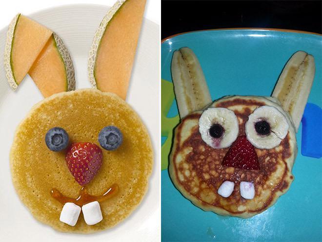 El plato de Alberto: a la izquierda en su cabeza, a la derecha la realidad. http://t.co/zrpiFam5ll