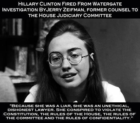 Hillary Clinton Fired at 27 for Lies, and Unethical Behavior http://t.co/wspgreto4g via @RosieOnTheRight #rubioruse http://t.co/ZMdeNd6cmQ