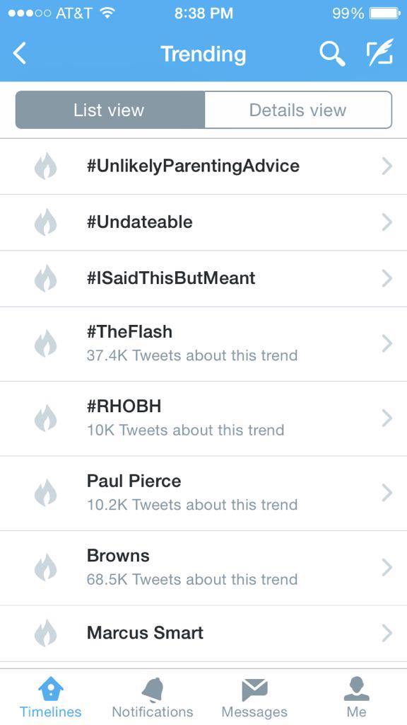 EAST COAST & MIDWEST got #Undateable trending!!! So cool. Thanks for watching! http://t.co/f3y8LnOb7N