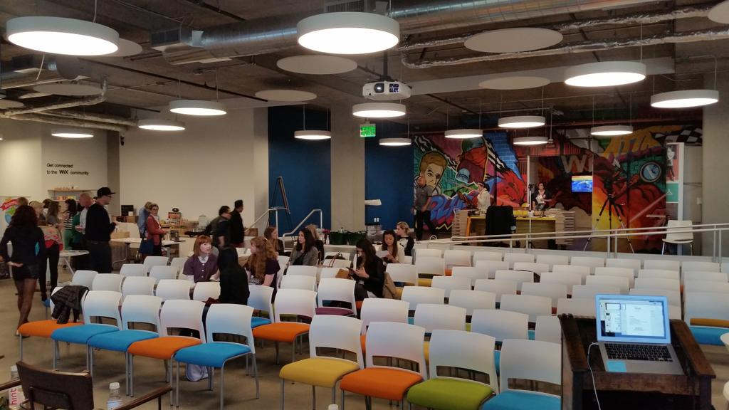 RT @WixLounge: Tonight #shetalksforum in the SF @WixLounge. Excited to hear what these amazing entrepreneurs have to say! #wixevents http:/…