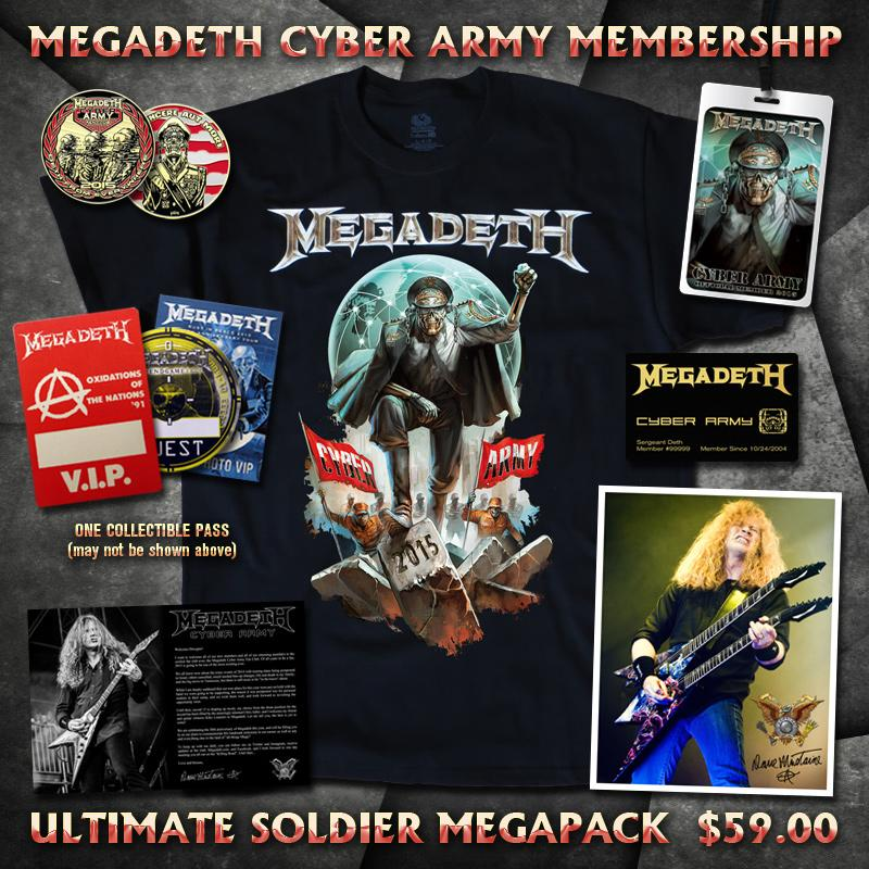 Pick up your Ultimate Megapack at the Megadeth Cyber Army today! http://t.co/GyQKBtjI5Q http://t.co/sWLjyU7WaI