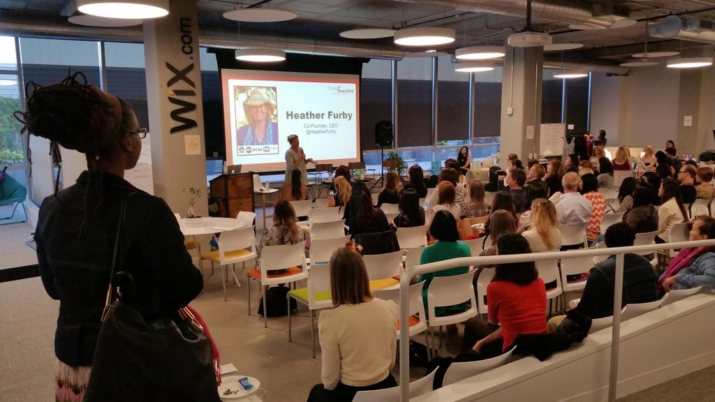 """RT @WixLounge: """"36% of women are business owners"""" - @heatherfurby #shetalksforum #wixevents #BeBold http://t.co/MxL1ObufCA"""